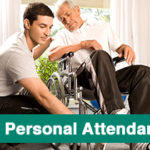 Attendant For Elderly Patient At Home